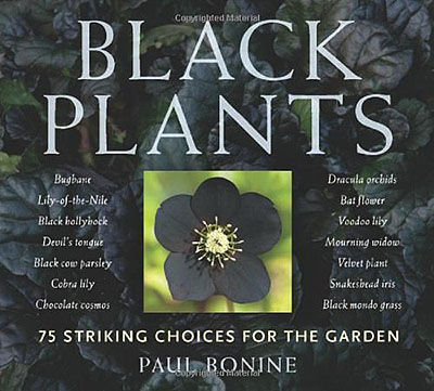 Book Cover: Black Plants by Paul Bonine