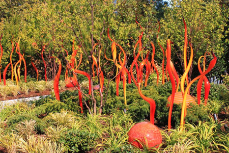 Photo: Chihuly glass garden